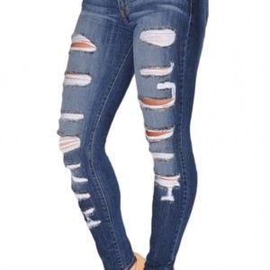 Denim - Women's Skinny jeans